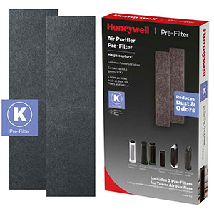 Honeywell Filter K Household Odor & Gas Reducing Pre-filter - 2 Pack, HRF-K2