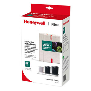 Honeywell HRF-R2 True HEPA Replacement Filter R - 2 Pack