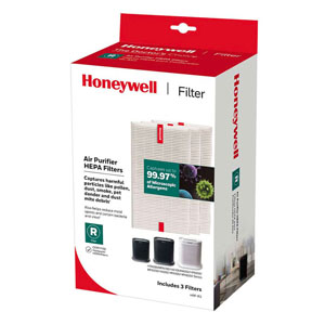 Honeywell HRF-R3 True HEPA Replacement Filter R - 3 Pack