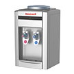 Honeywell 21-Inch Tabletop Water Cooler, Hot & Cold Temperatures with Thermostat Control, Silver - HWB2052S2