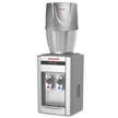 Honeywell 21-Inch Tabletop Water Cooler Dispenser with Filtration System, Silver - HWB2052S/HWB101S