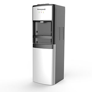 Honeywell 41-Inch Commercial Grade Freestanding Bottom Loading Water Cooler Dispenser, Silver - HWBL1033S