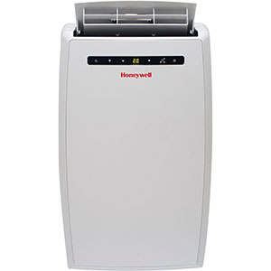 Honeywell MN10CESWW Portable Air Conditioner, 10,000 BTU Cooling, LED Display, S