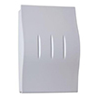 Honeywell Decor Wired Door Chime with White Finish, RCW250N1003/N