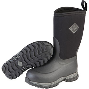 Muck Kid's Rugged II Boot, Black - RG2-001