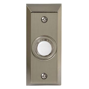 Honeywell RPW204A Wired Surface Mount Illuminated Push Button for Door Chime