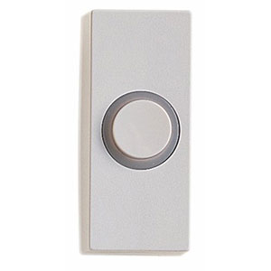 Honeywell RPW210A1002/A Wired Illuminated Push Button for Door Chime